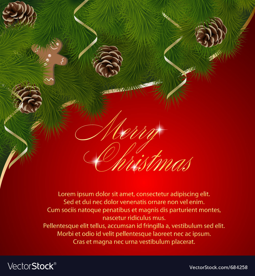 Christmas  on Christmas Greeting Card Vector 684258 Jpg
