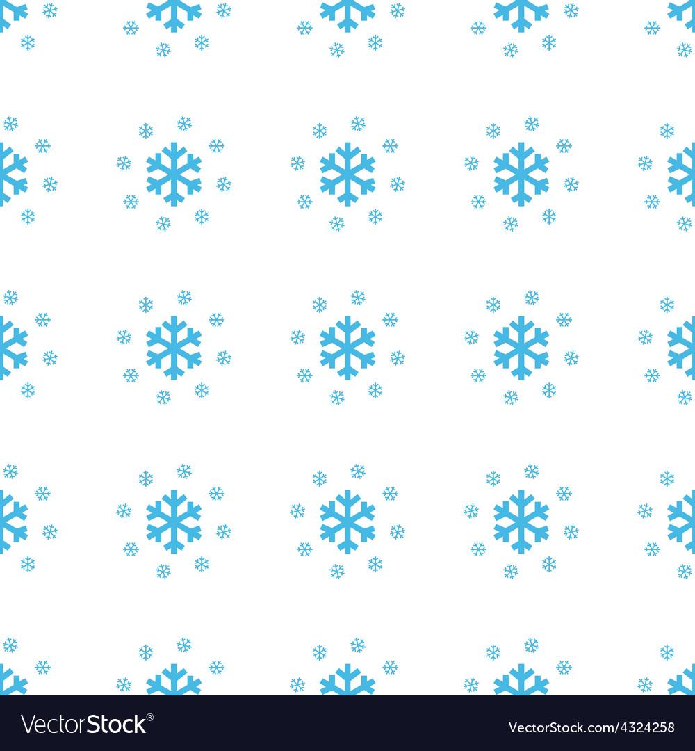 Unique Snow seamless pattern
