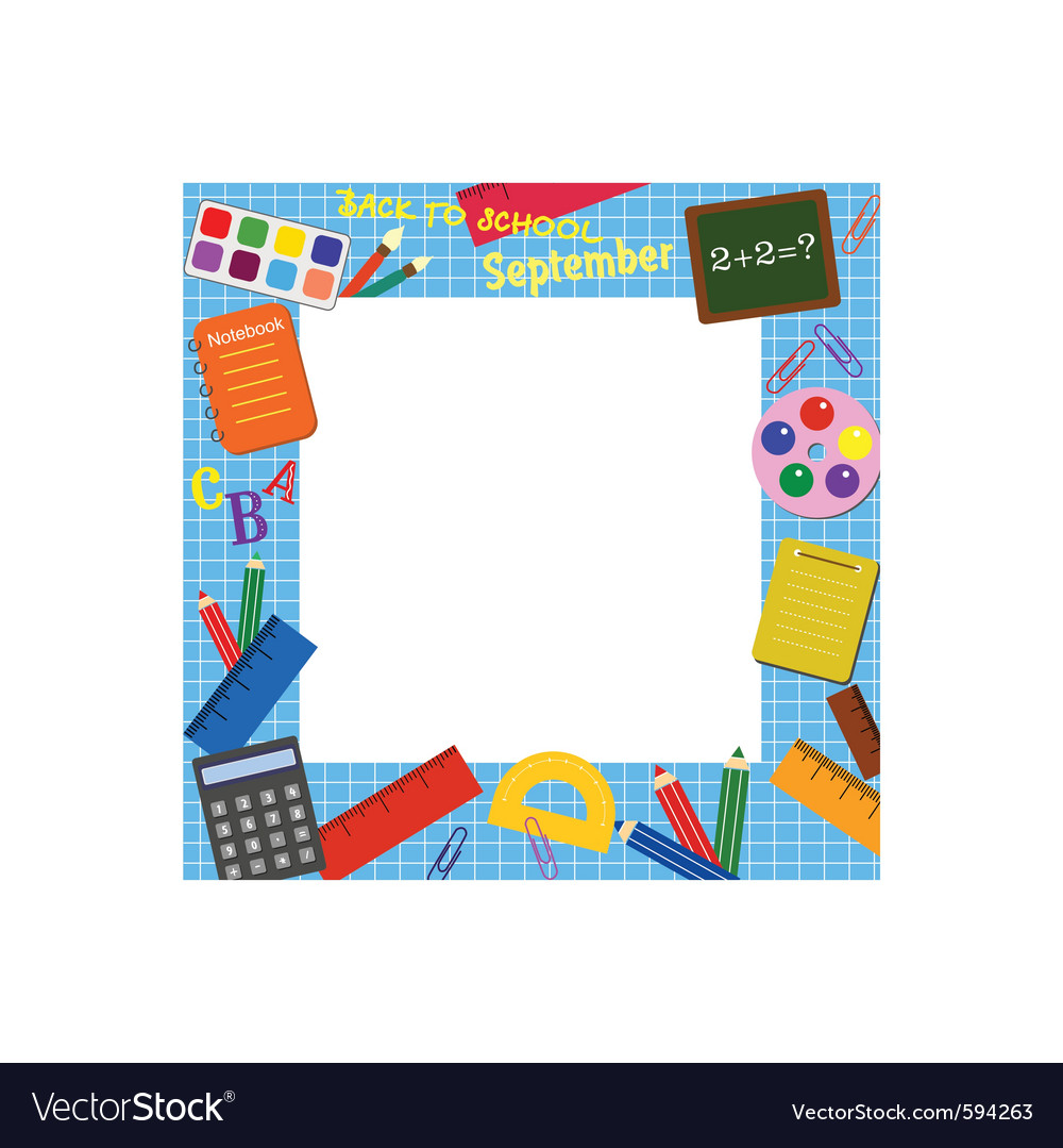 School border frame