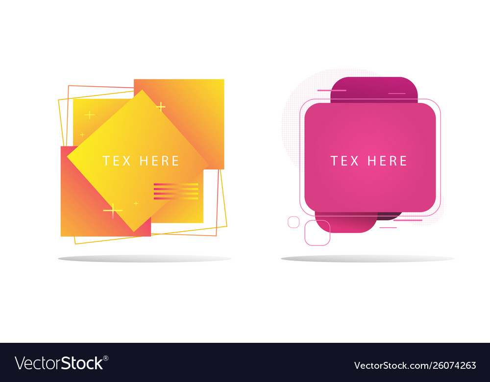 Shapes background and colorful