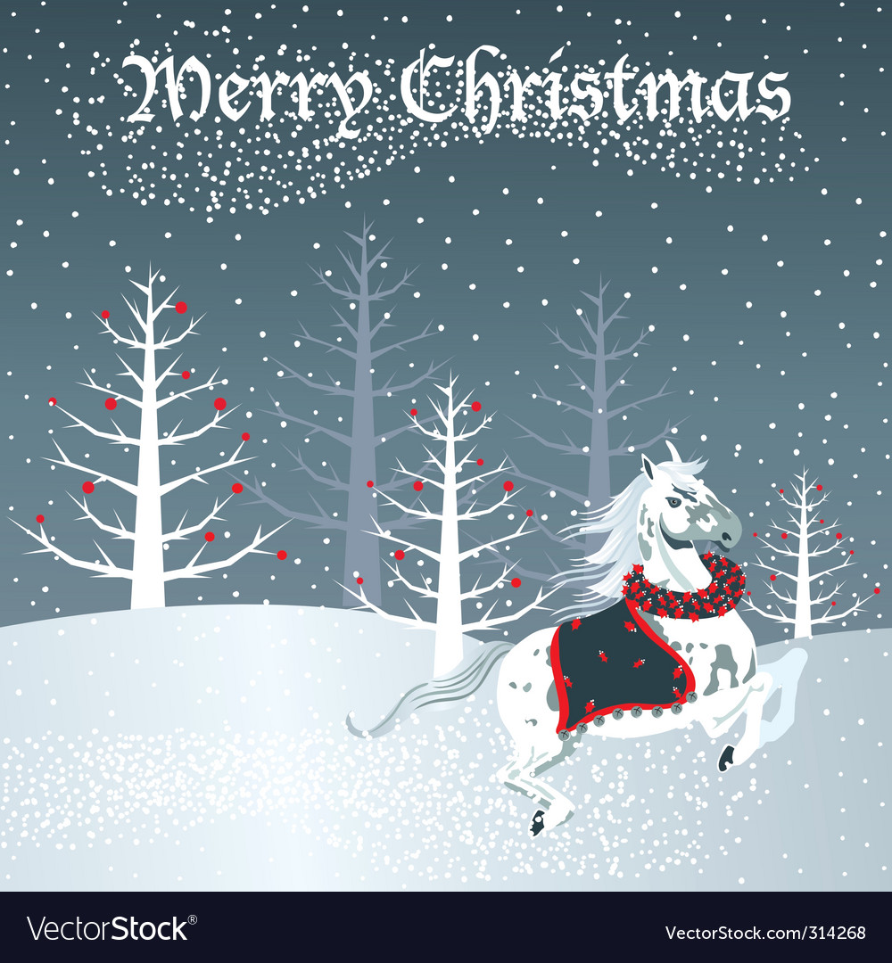 Christmas Horse Pictures.Christmas Horse