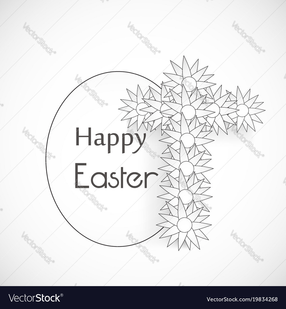 Elements of easter background