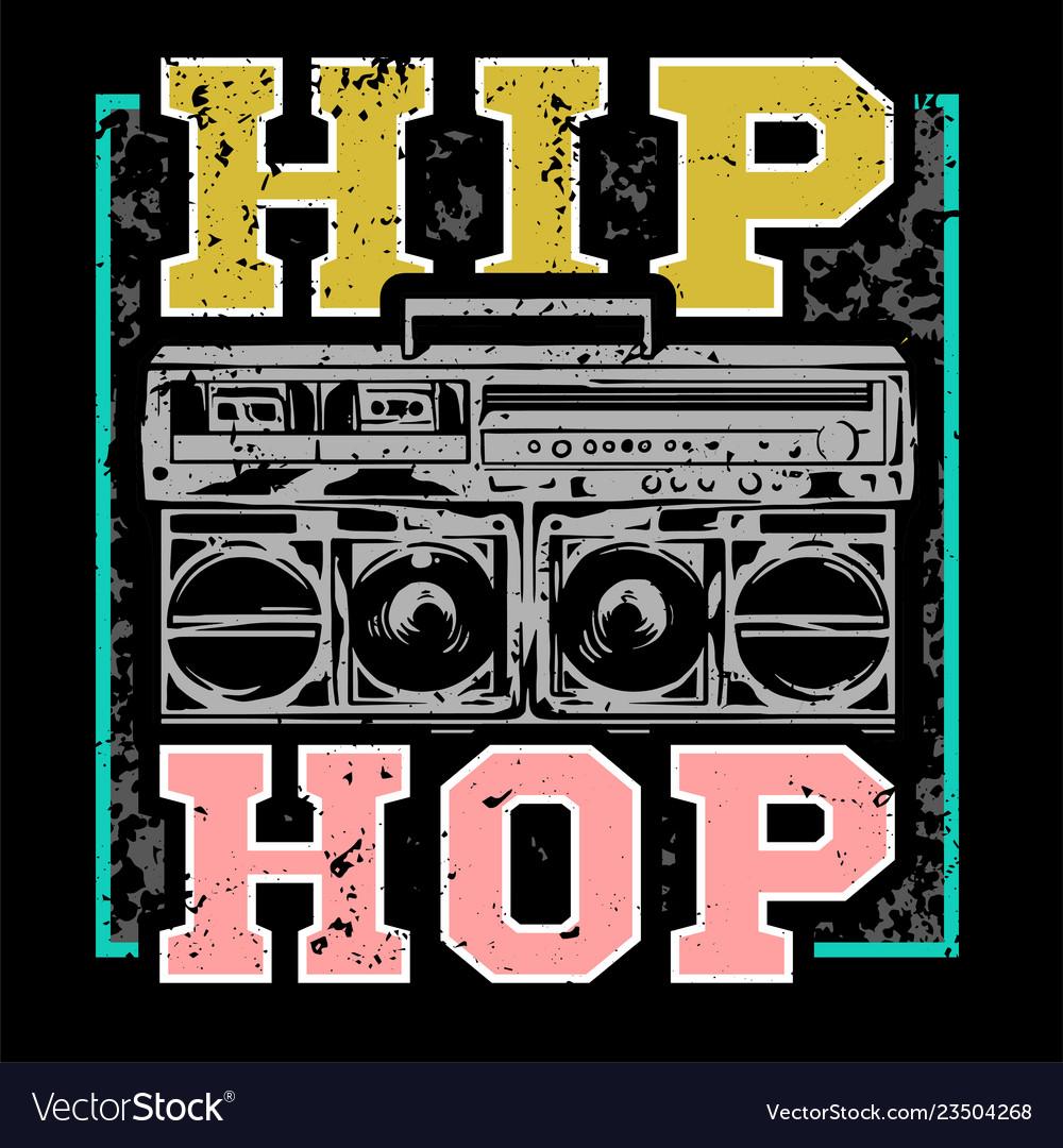 Hip hop print