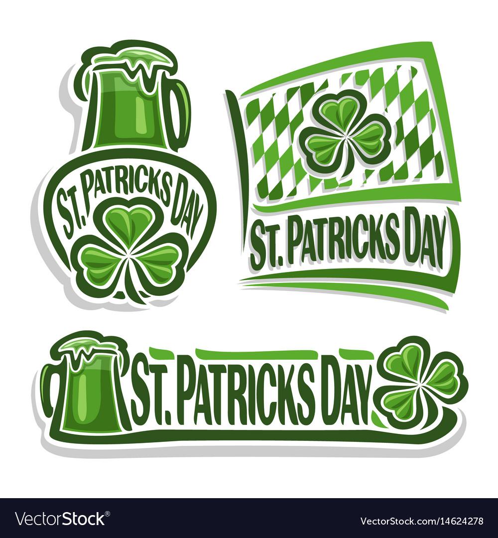 Logo for st patricks day