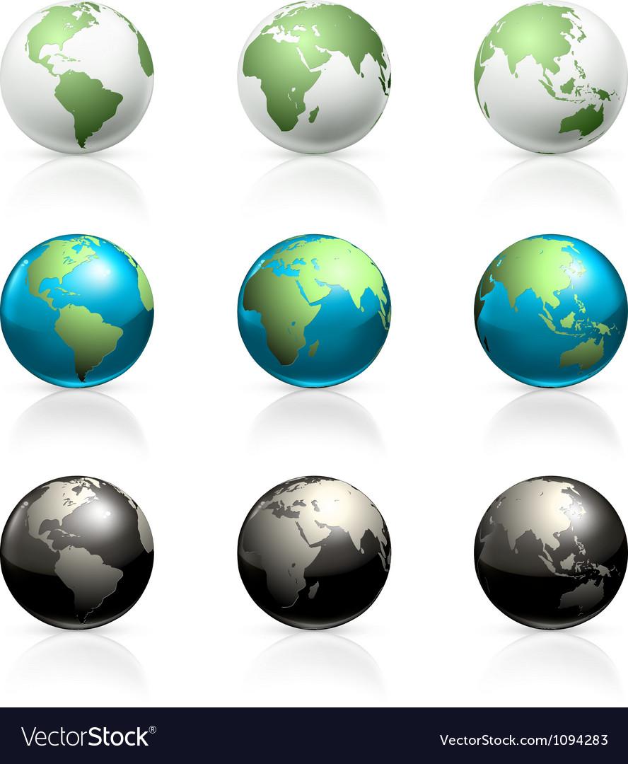 Globes set