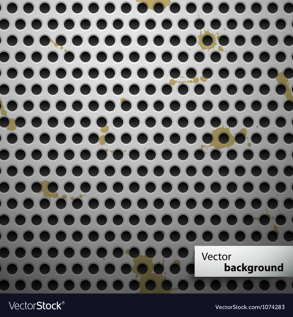 Grunge metal speaker grill seamless pattern