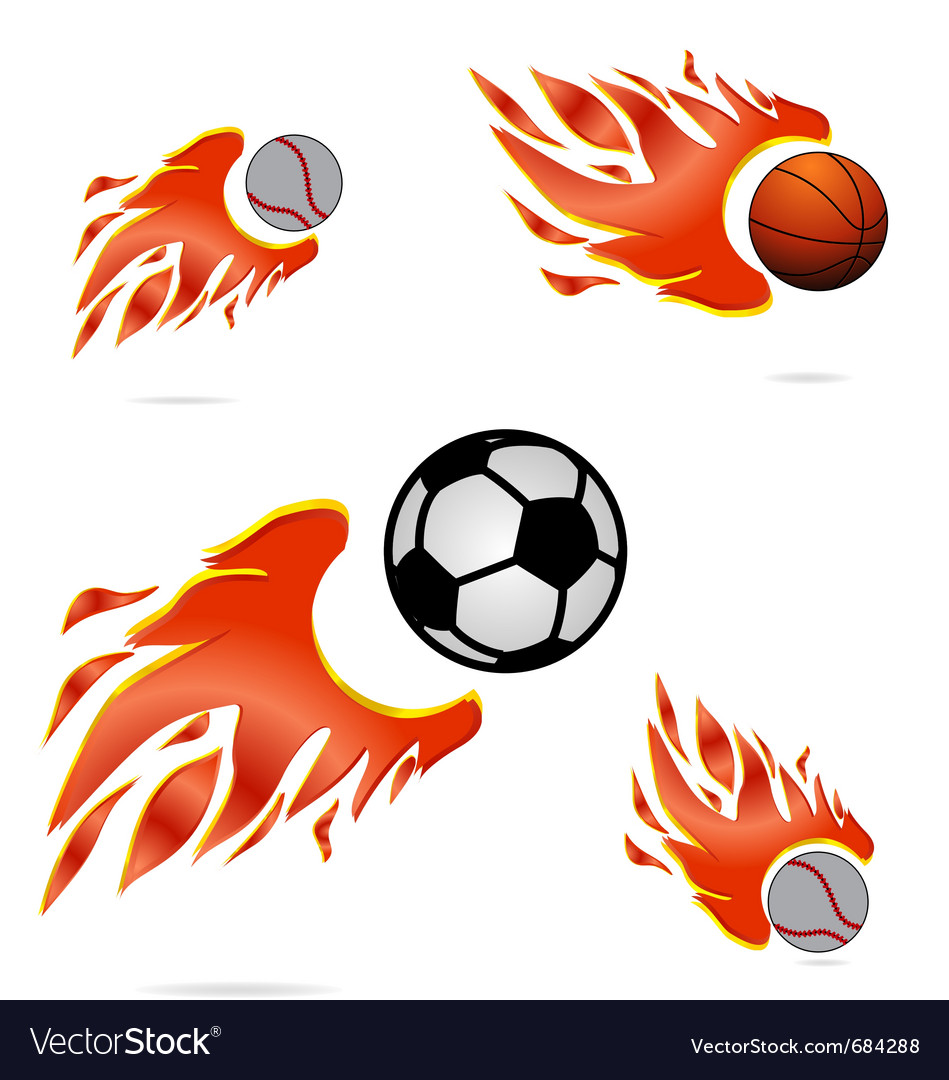 Creative sport fly vector image