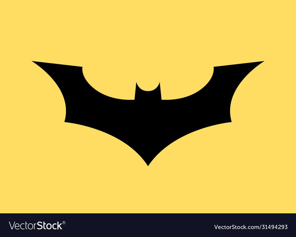 Batman logo concept icon bat man dark