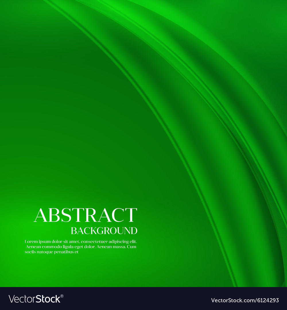 Green Template Abstract background with