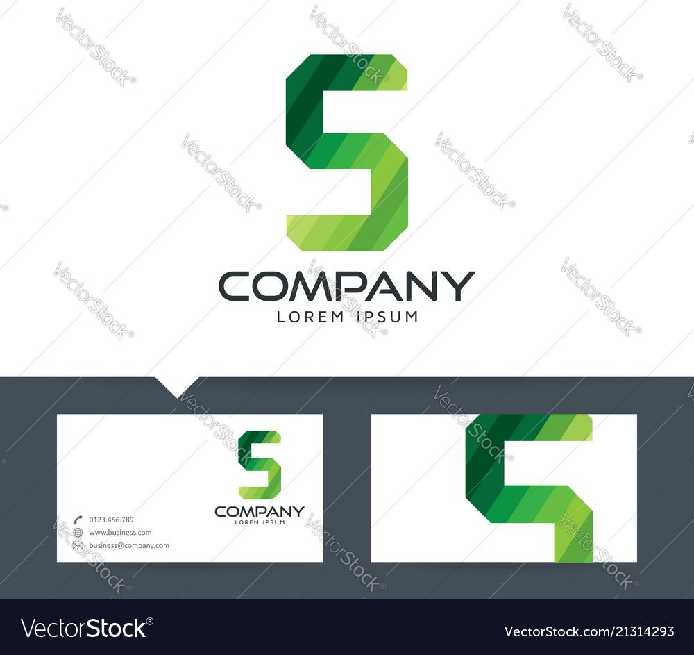 Letter s - logo design