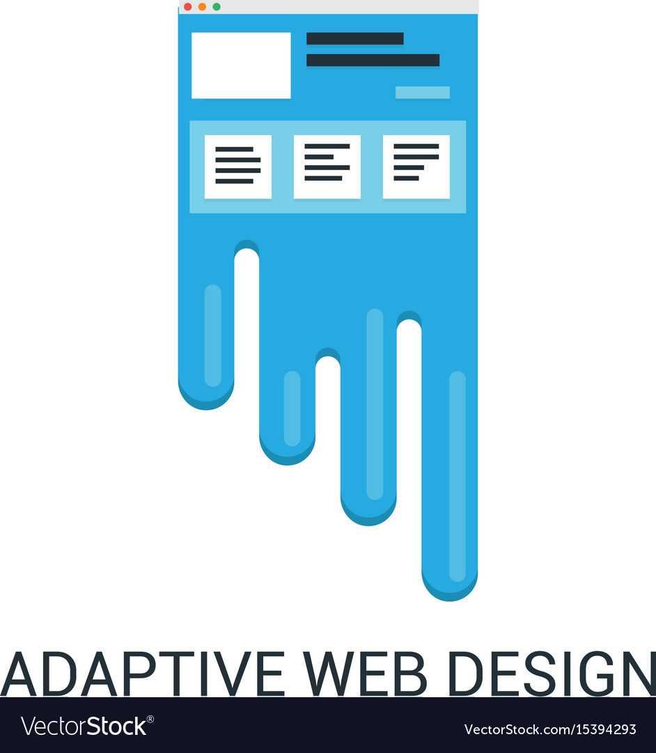 Responsive web design abstract