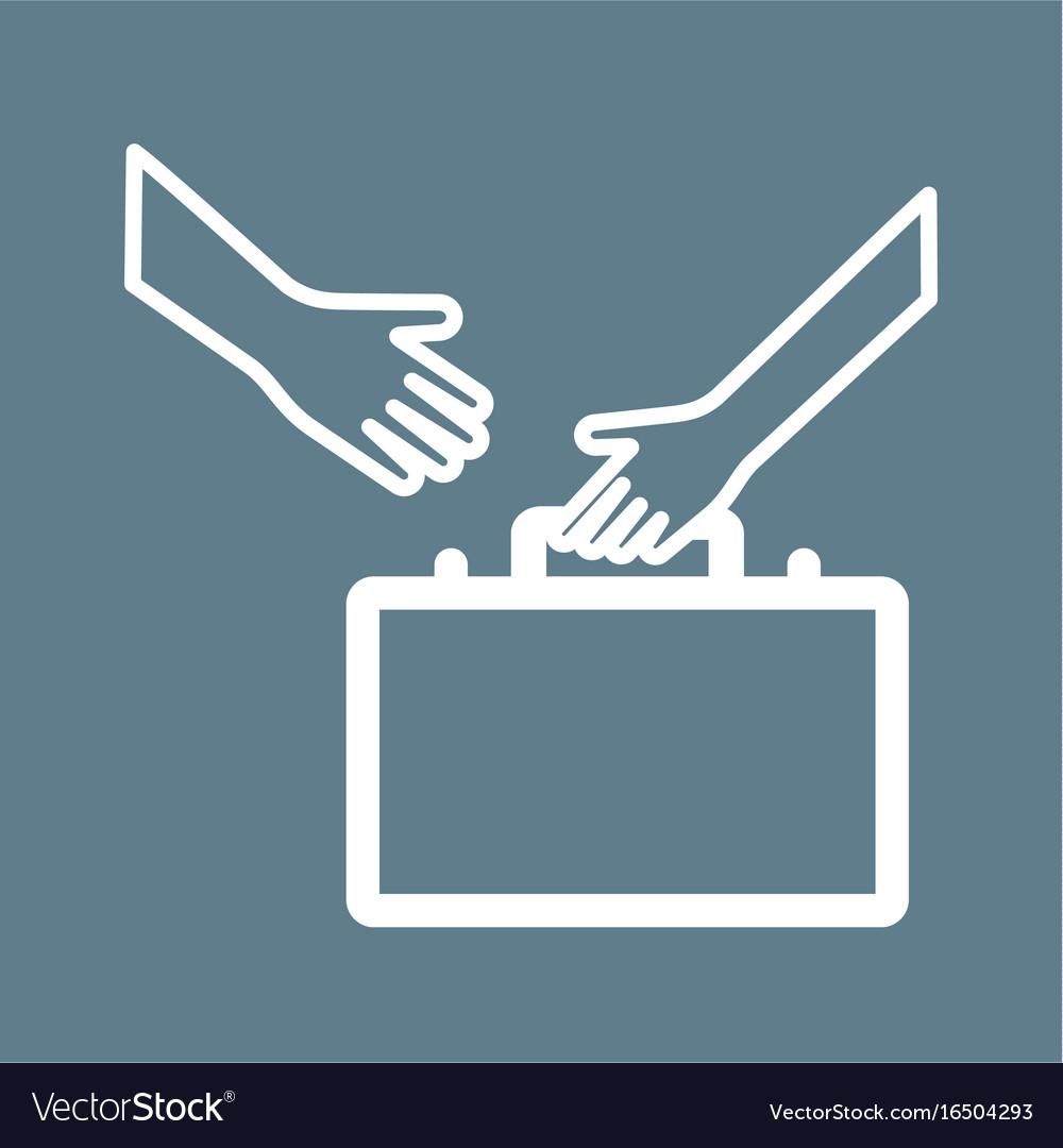 Selling skills vector image