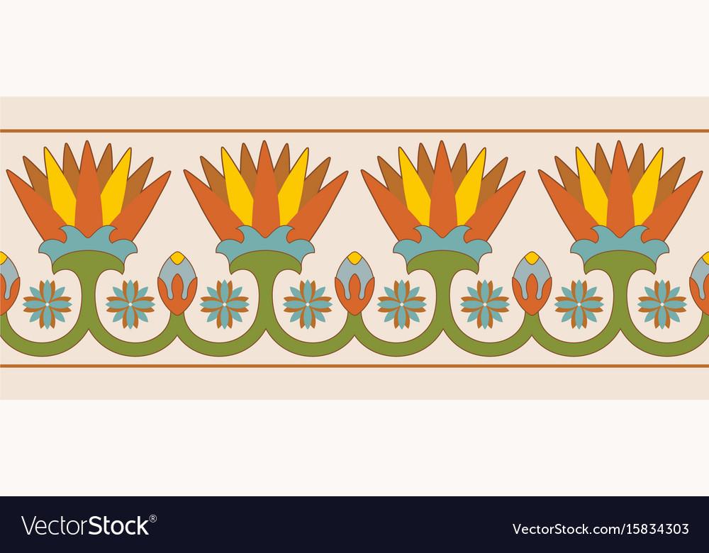 Egyptian national ornaments