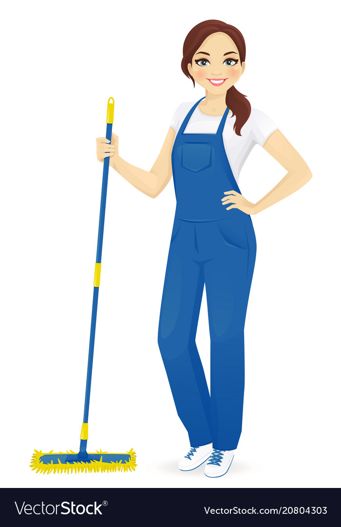 Woman cleaner