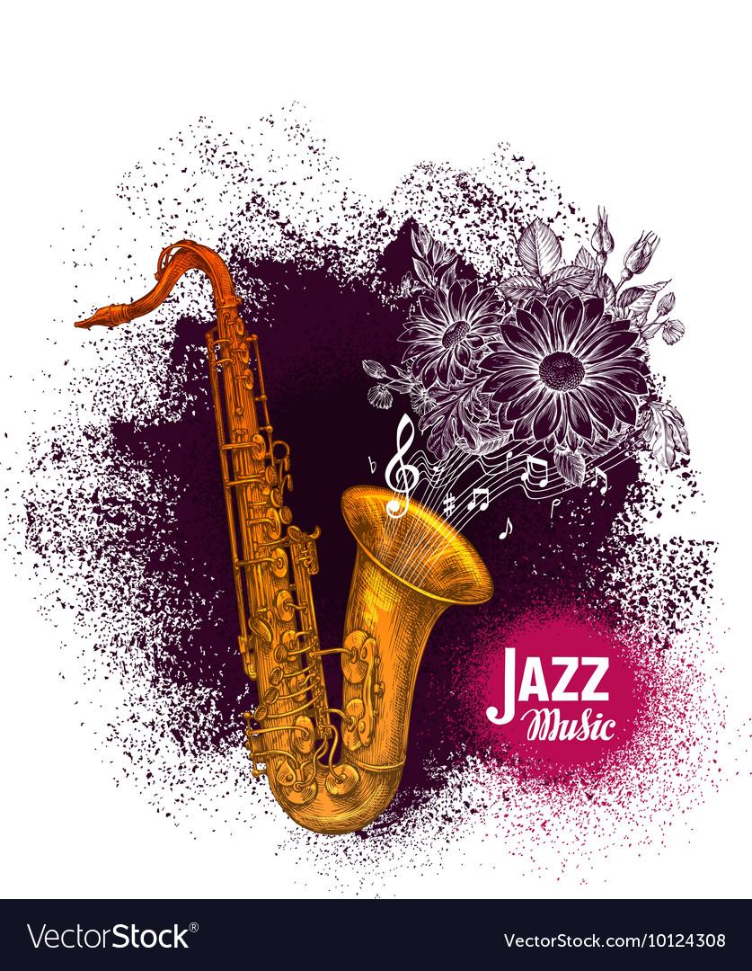 Saxophone sax Jazz music