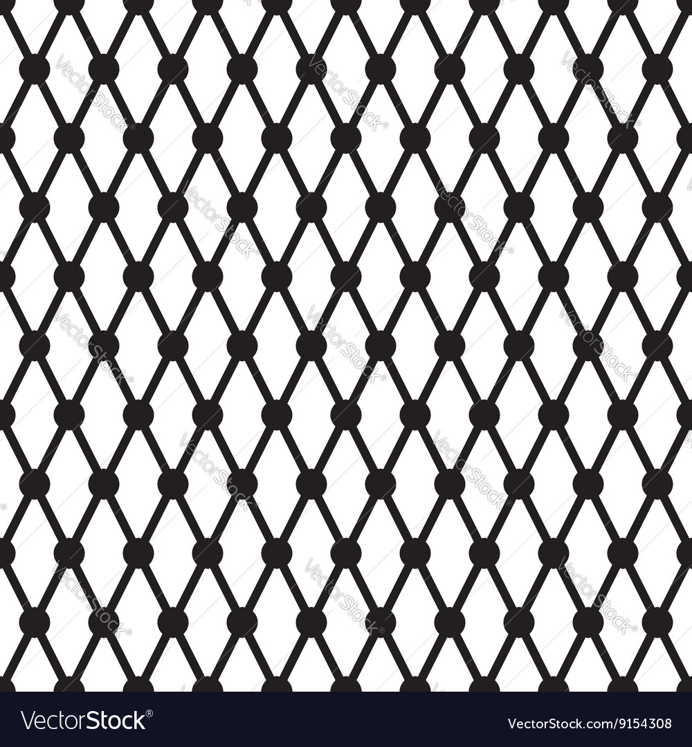 Simple cross dots line seamless pattern