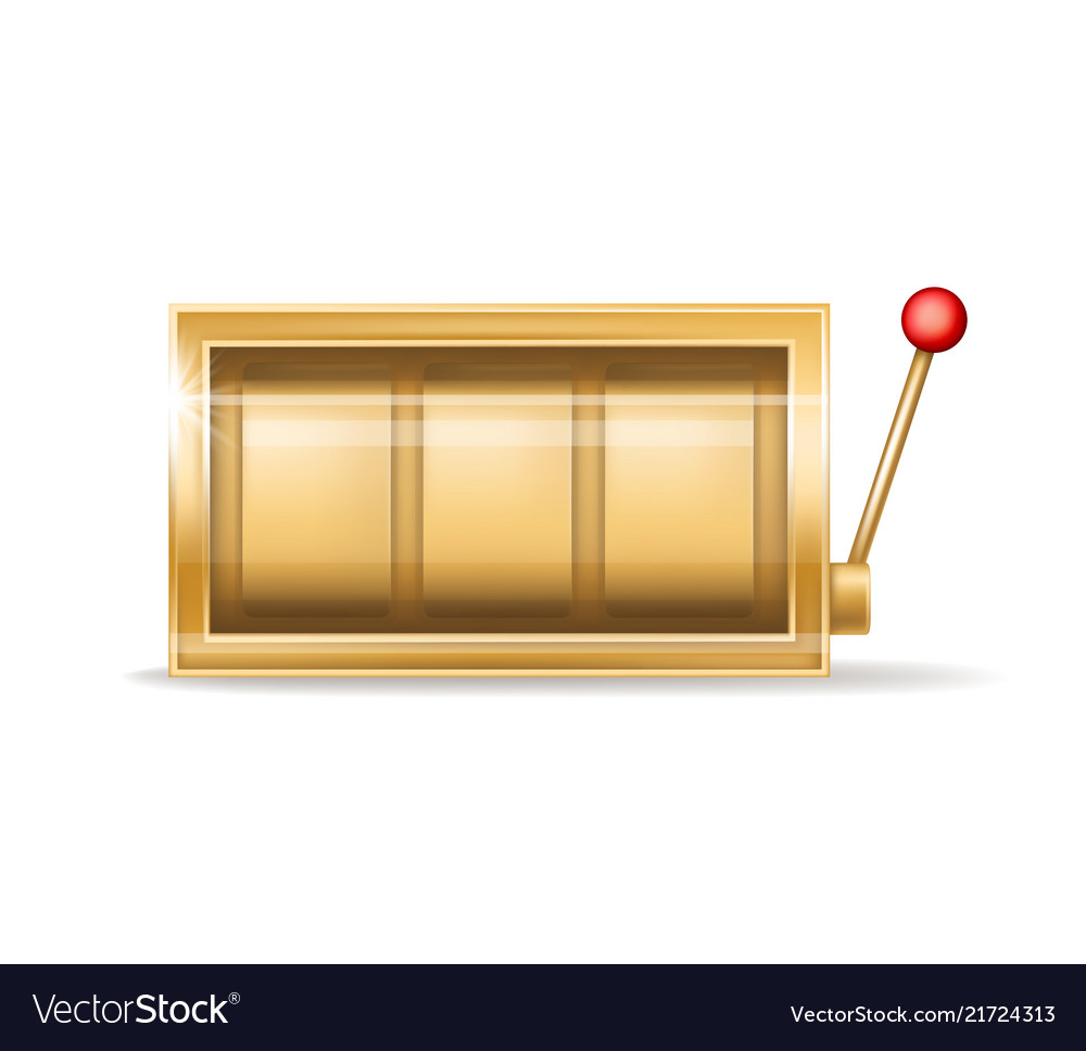 Golden slot machine gambling casino