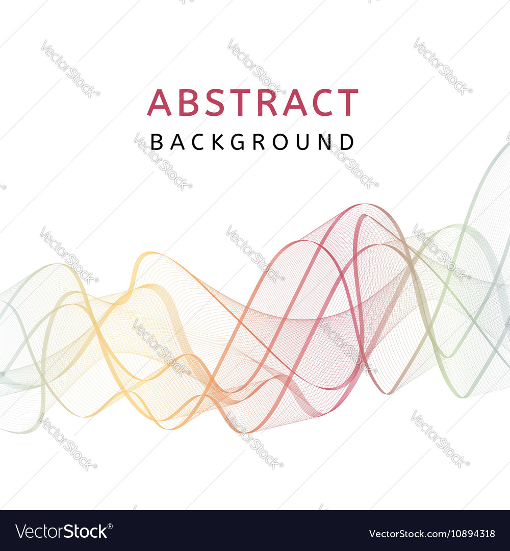 Abstract smooth transparent colorful background