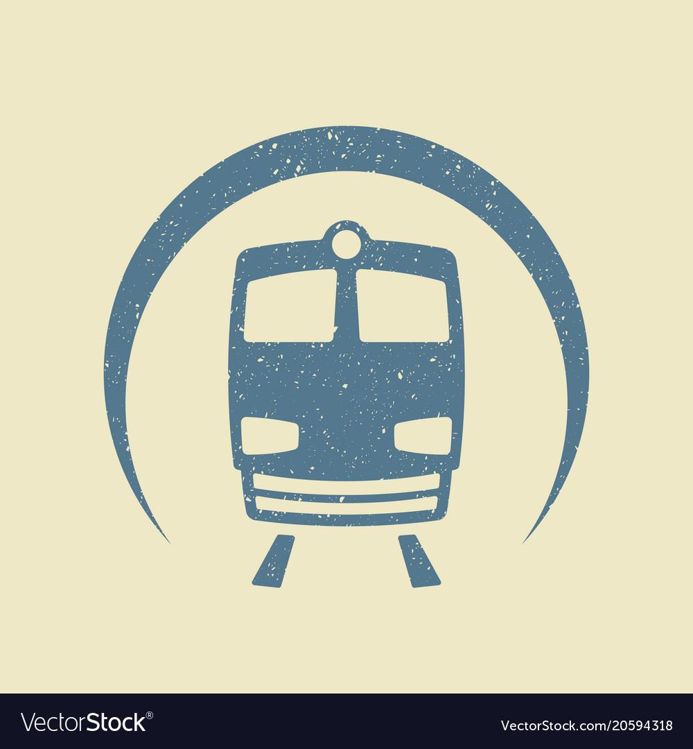Metro icon flat