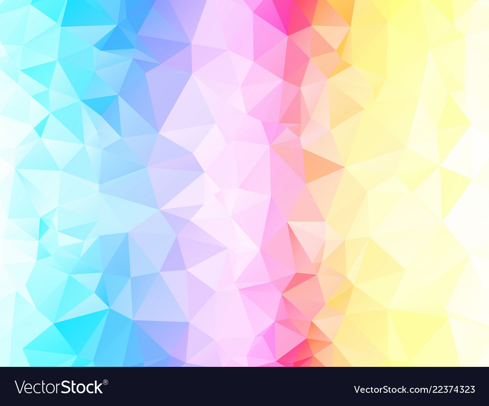 Colorful Light Abstract Triangle Background