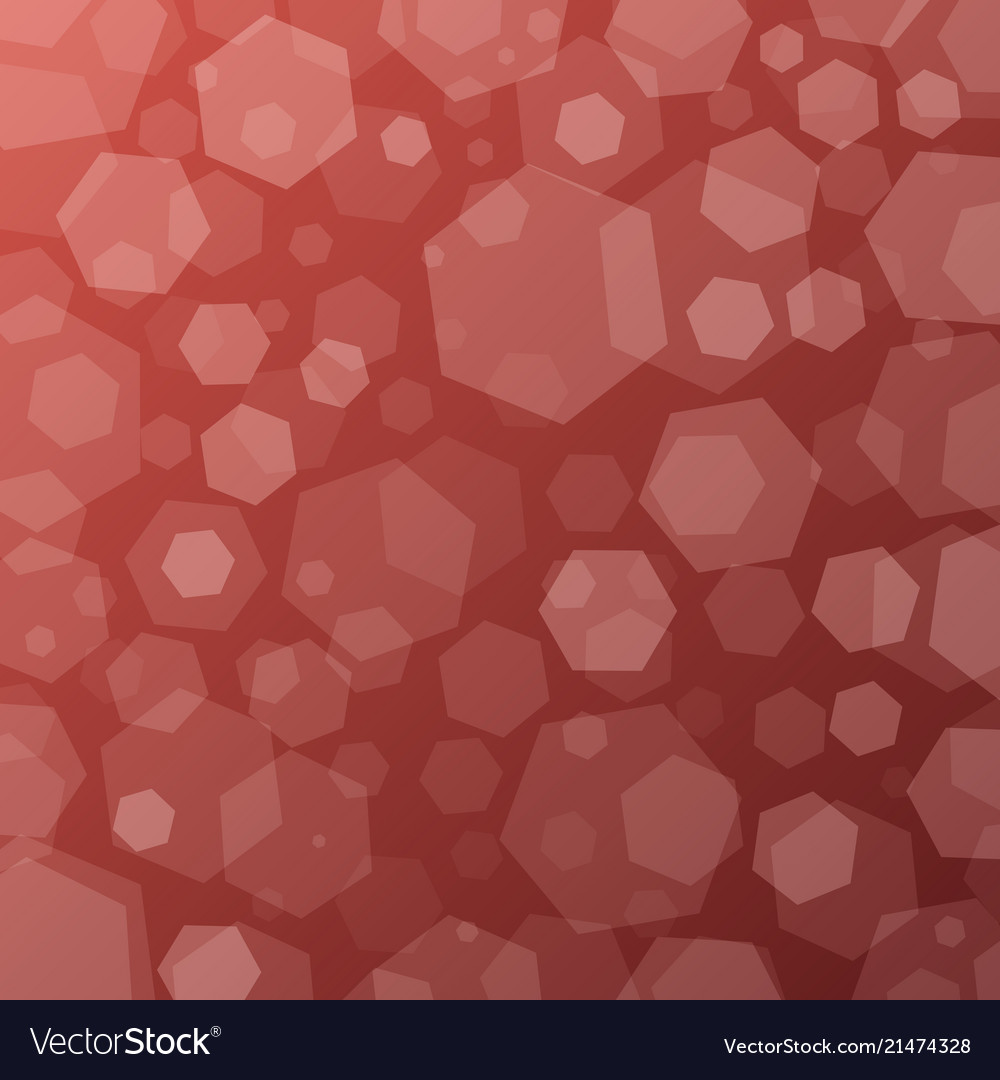 Geometric abstract techno background with hexagons
