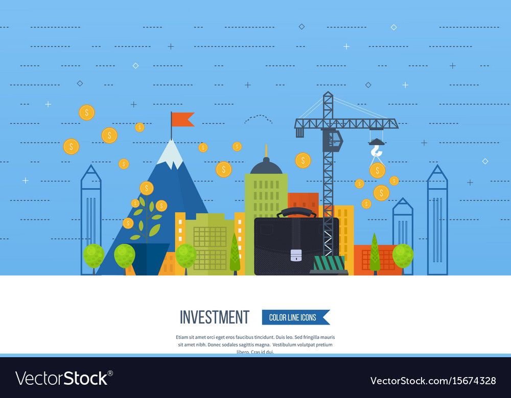Property investment financial strategy concept