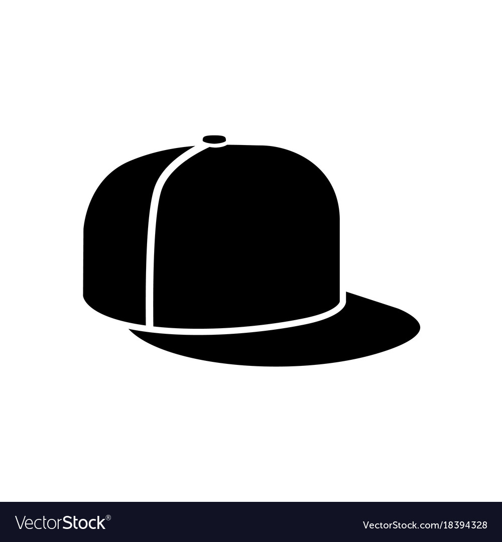 Rap cap icon Royalty Free Vector Image - VectorStock 04929e58c2f6
