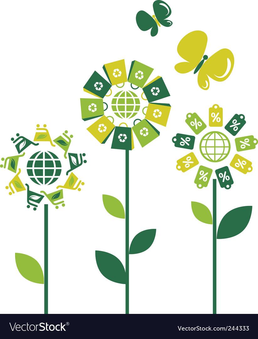 Environmental flowers