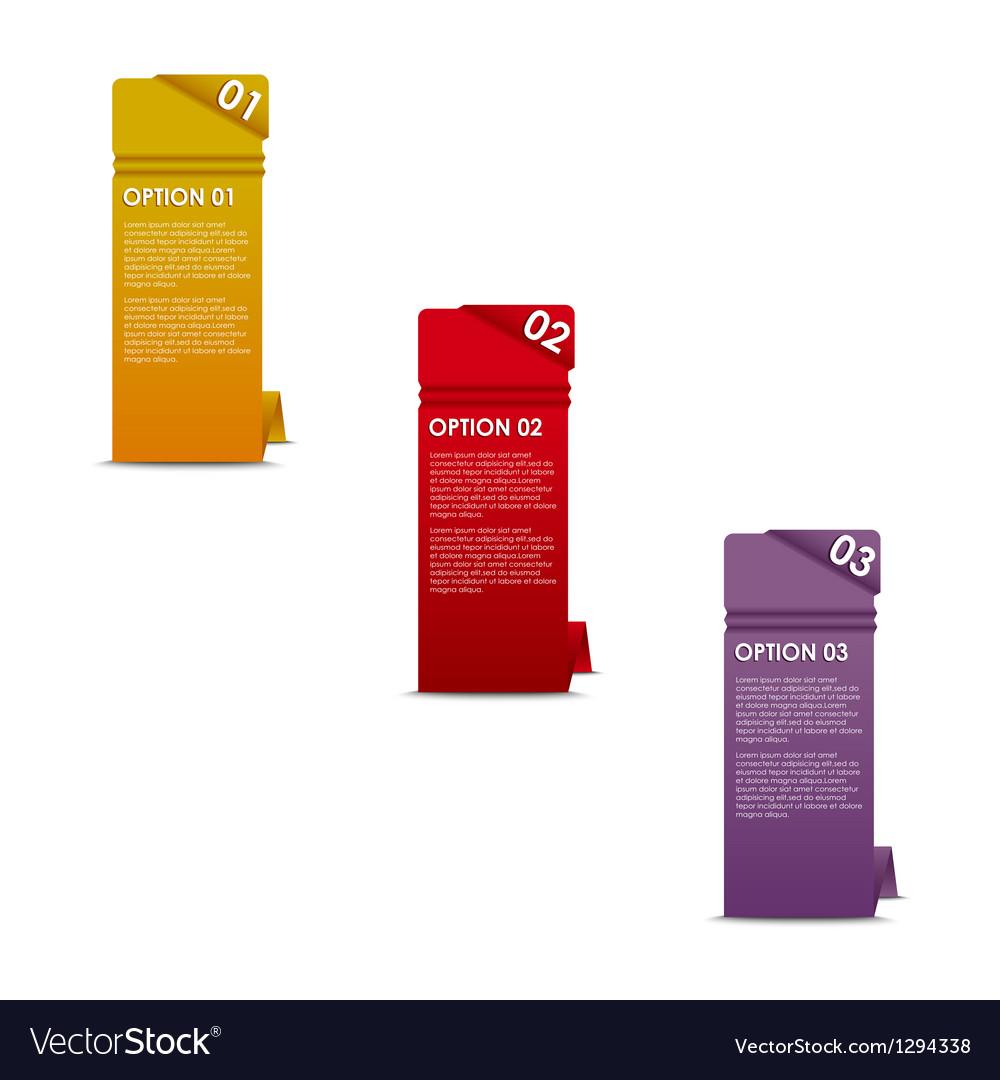 Vertical paper options