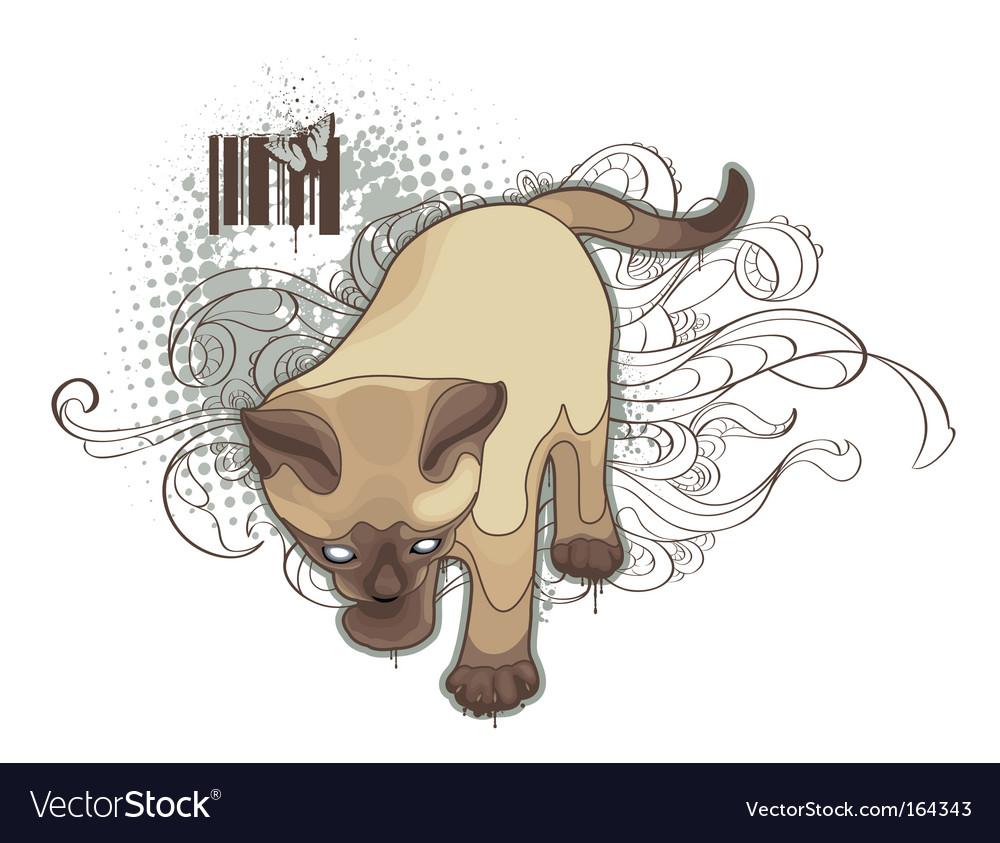 Bizarre cat
