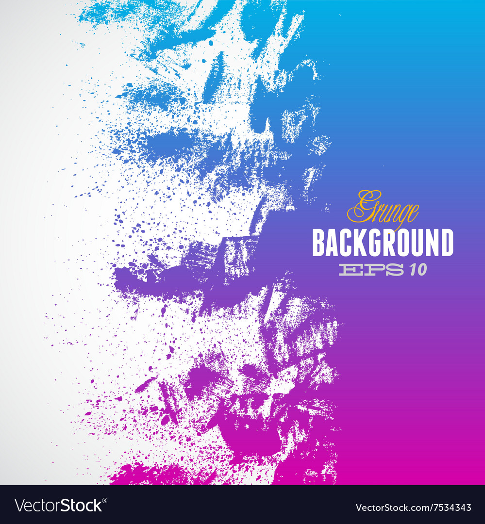 Grunge blue-purple background