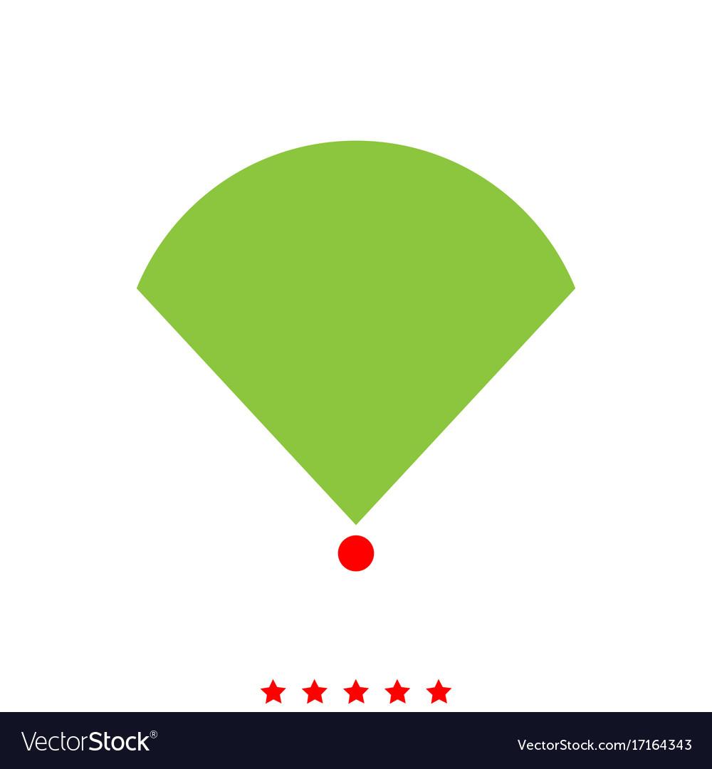 Location or radar it is icon