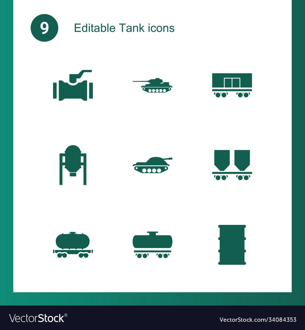 Tank icons