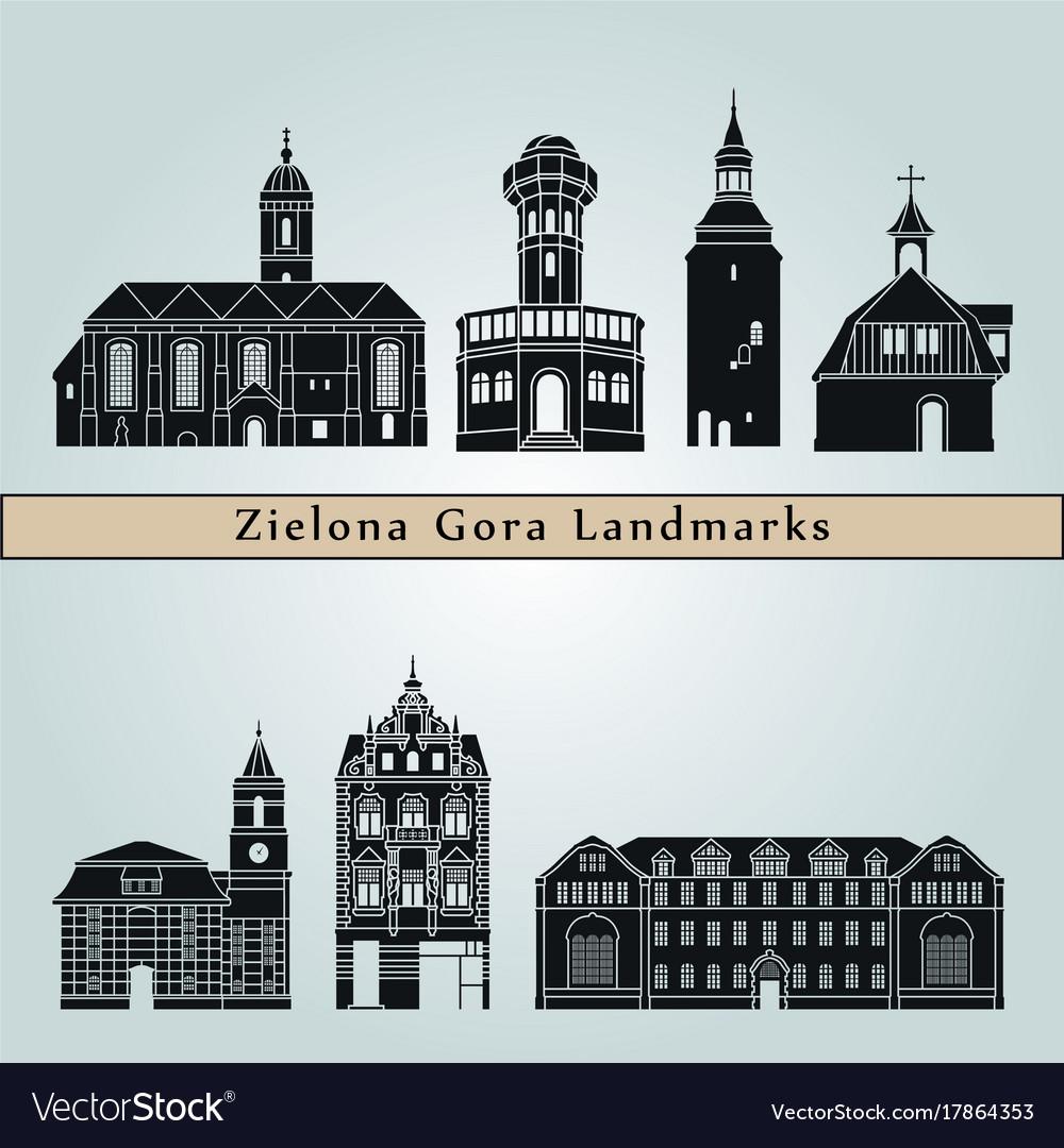 Zielona gora landmarks