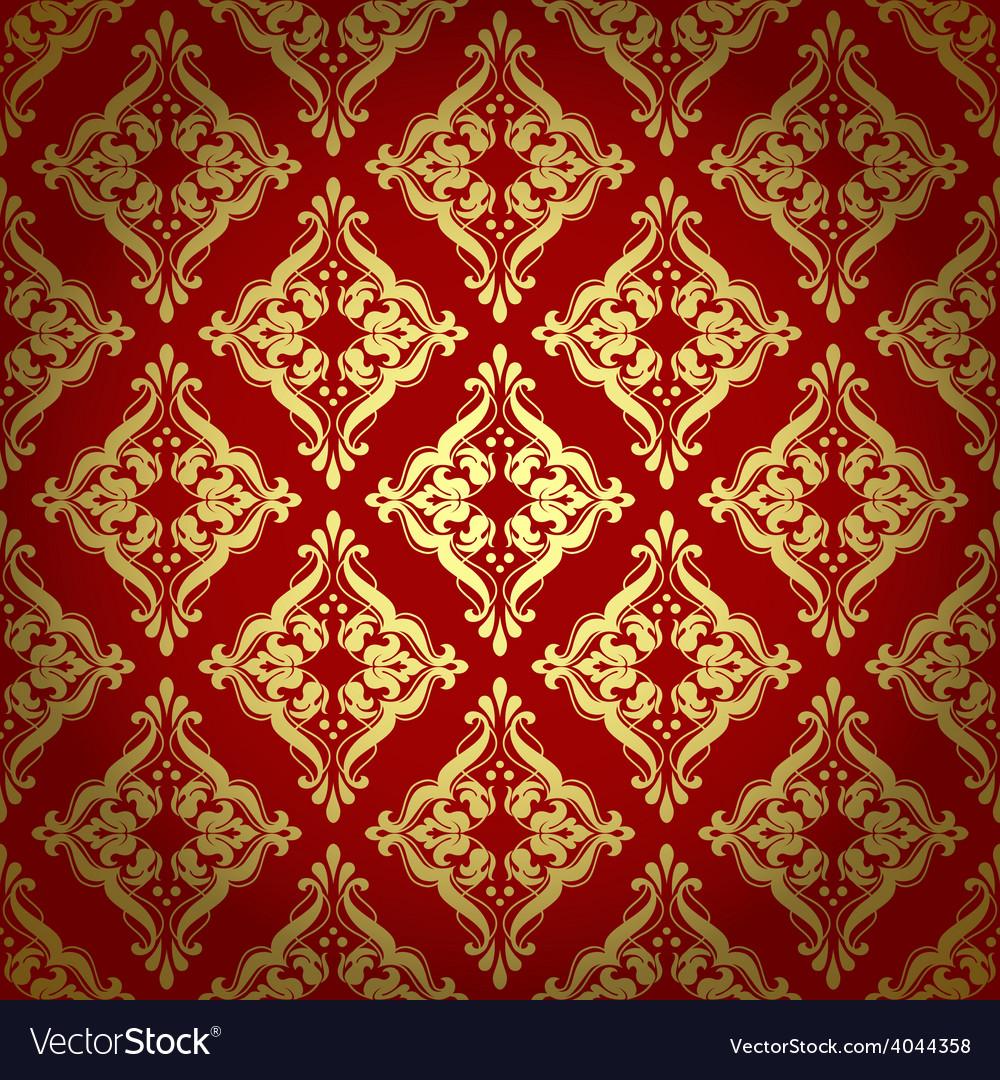 Damascus pattern Seamless vintage background
