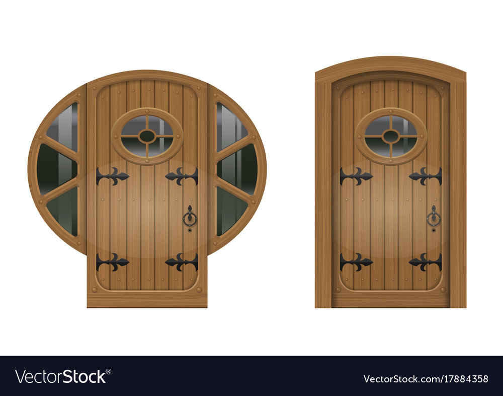 Old arched door vector image  sc 1 st  VectorStock & Old arched door Royalty Free Vector Image - VectorStock
