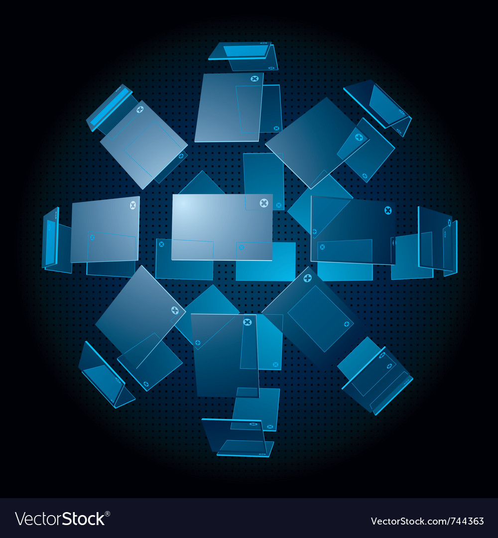 3d spherical interface