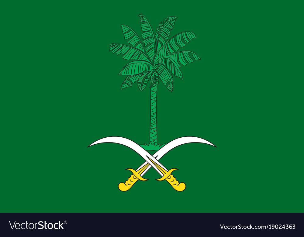Picture of the saudi arabian flag