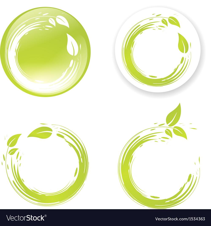 Green Eco Design Label
