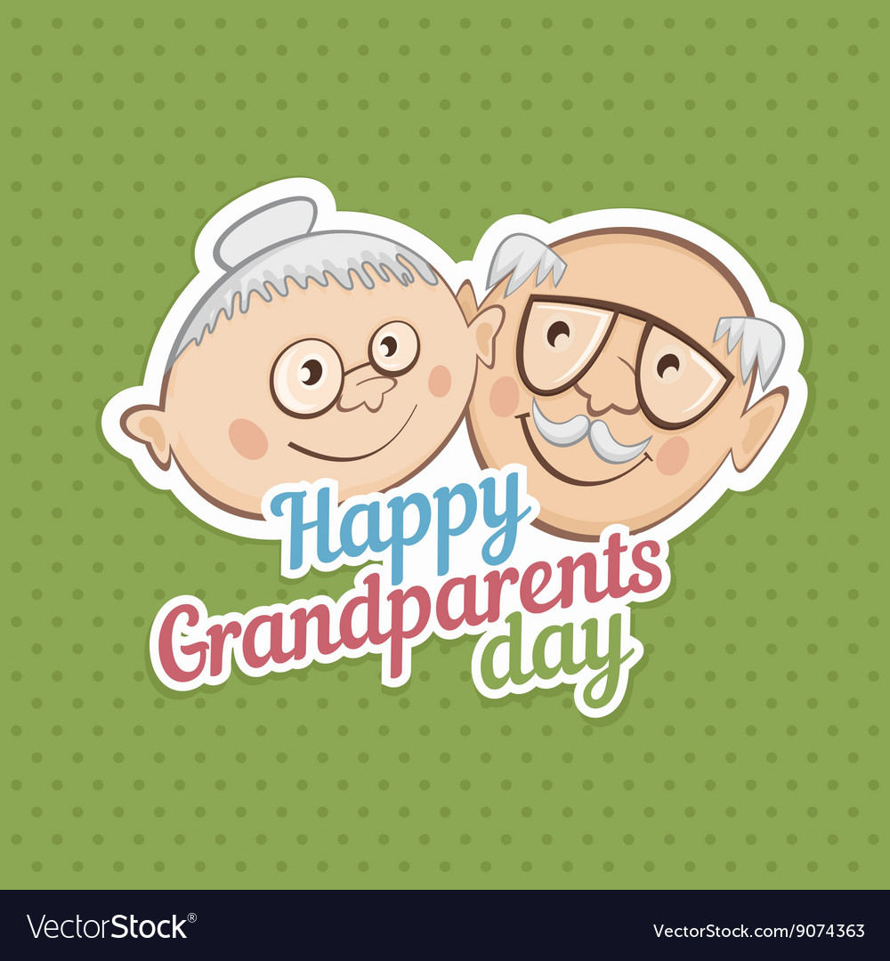 Greetings On Grandparents Day Royalty Free Vector Image