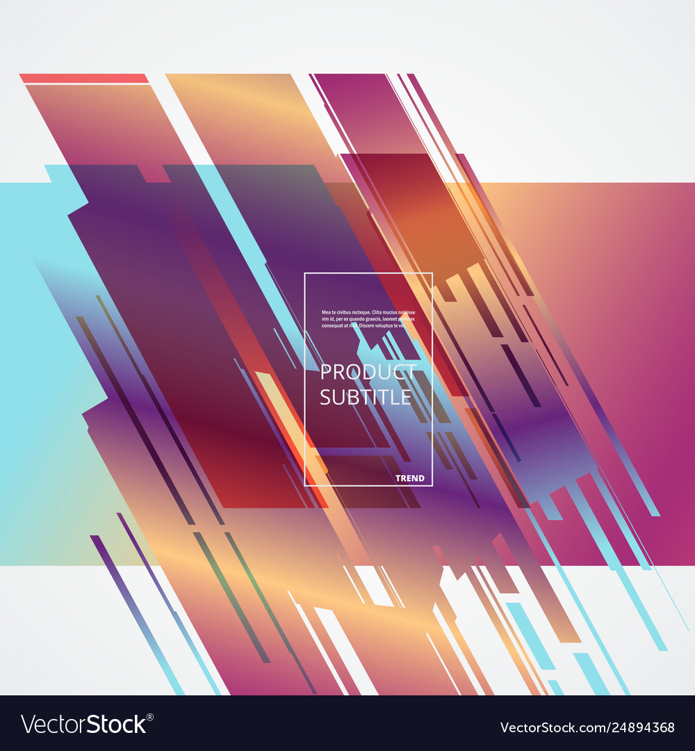 Abstract Color Background For Your Design