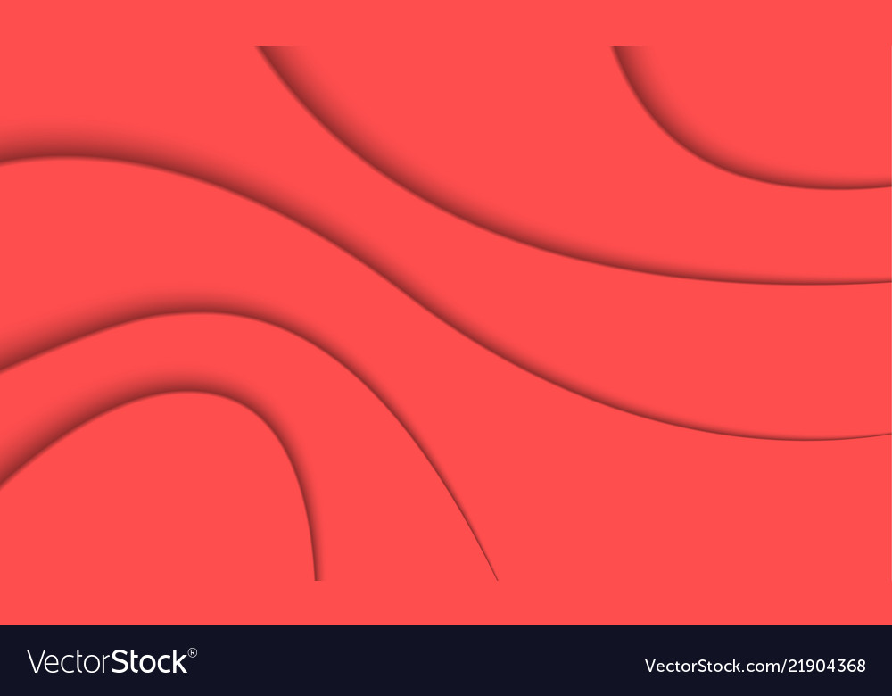 Abstract Coral Color Background Royalty Free Vector Image