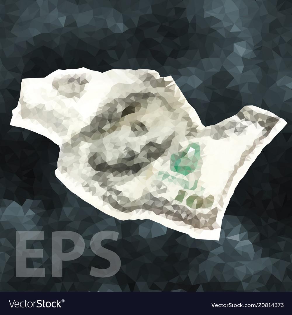Crumpled one hundred dollar cash money