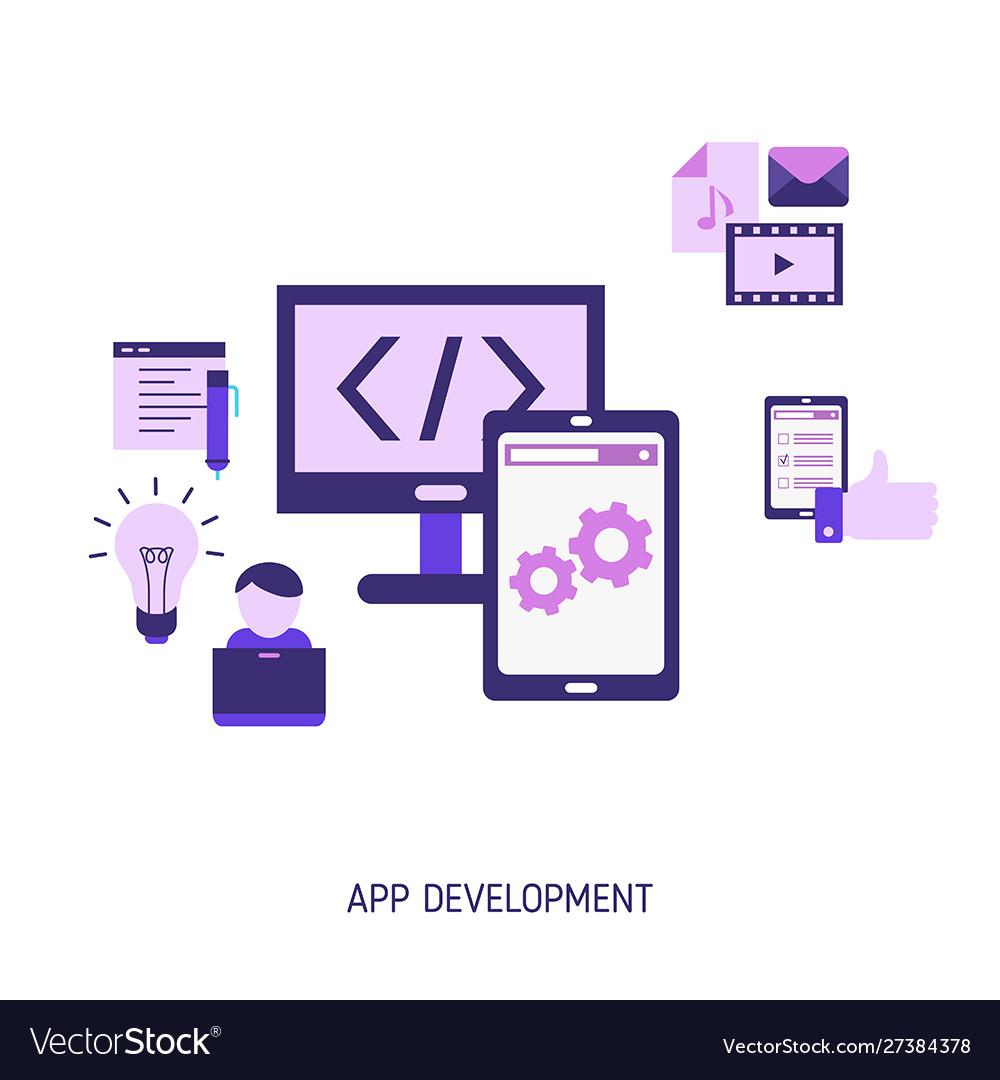 App development and design concept app