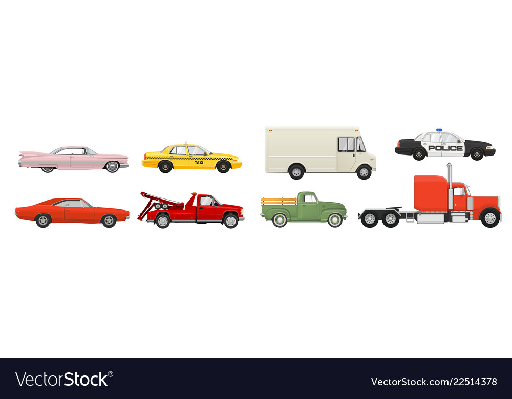 Different cars set