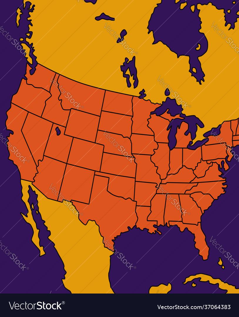 Borders american states