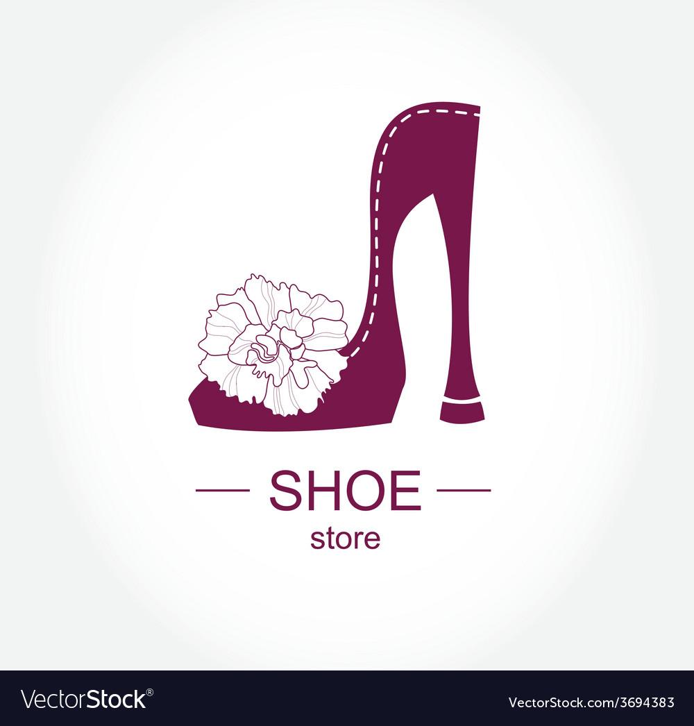 Logo shoe store shop fashion collection boutique