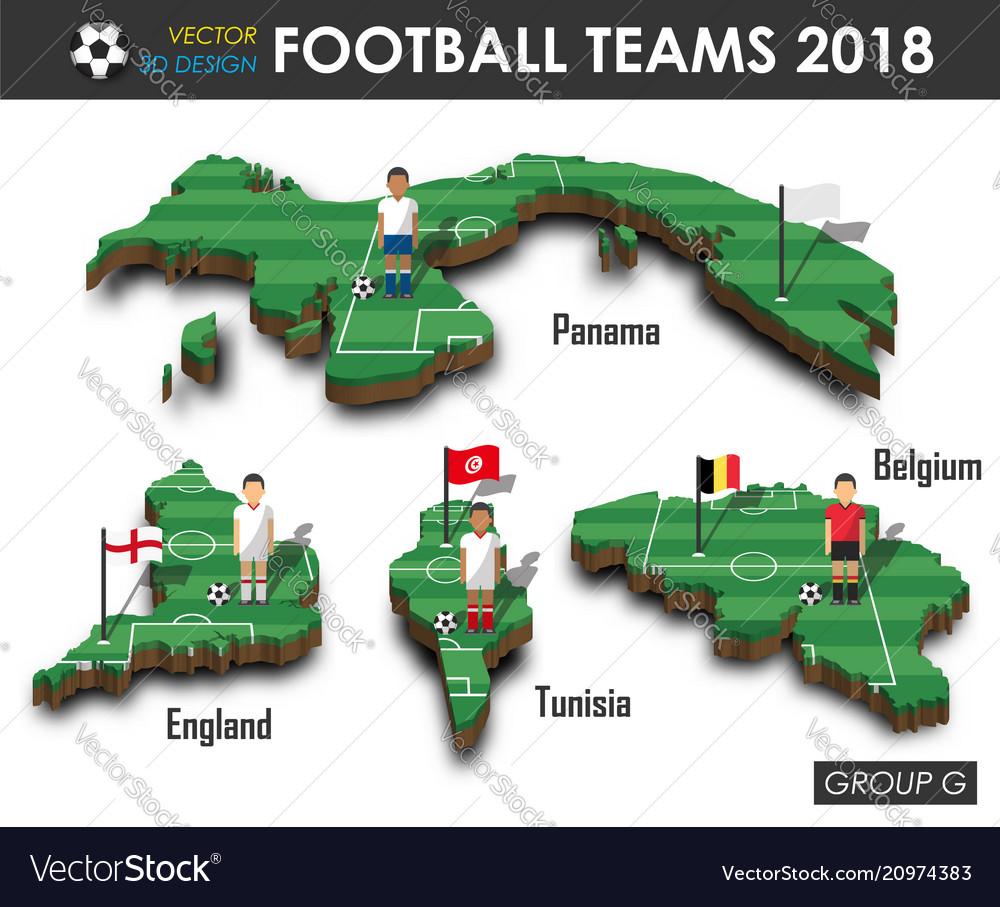 National soccer teams 2018 group g
