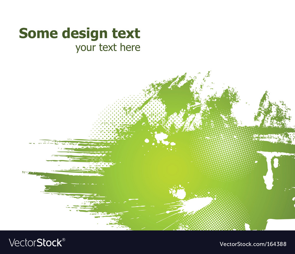 Grunge illustration vector image