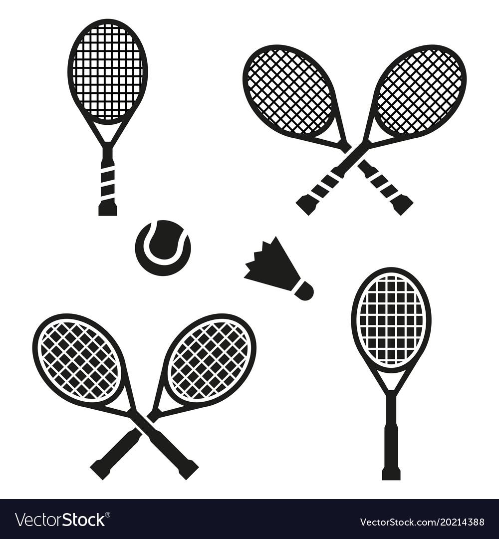 Tennis racket sign icon sport symbol